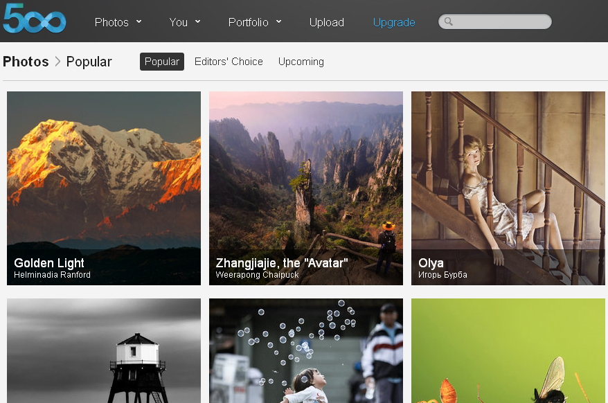 Flickr vs  500px (a plea for my old friend Flickr) | Crazy Ivory