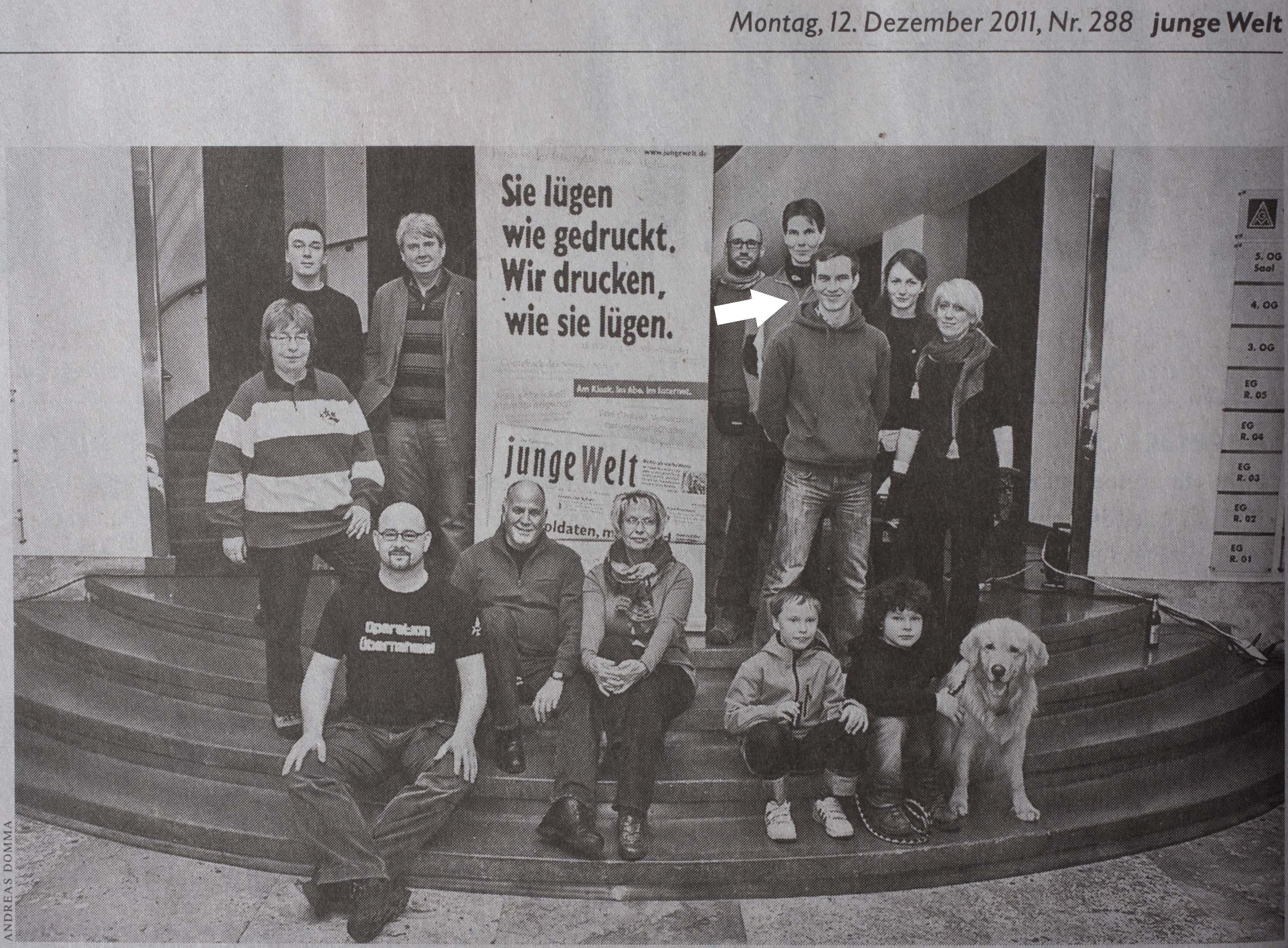Winner image of Blende 2011 - Junge Welt