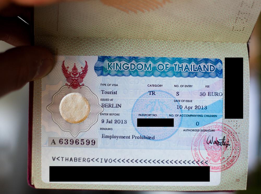 My Thailand VISA