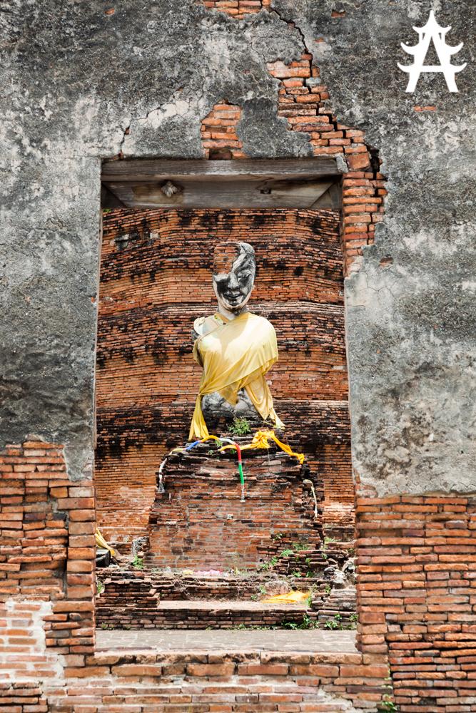 Old sculpture in Ayutthaya