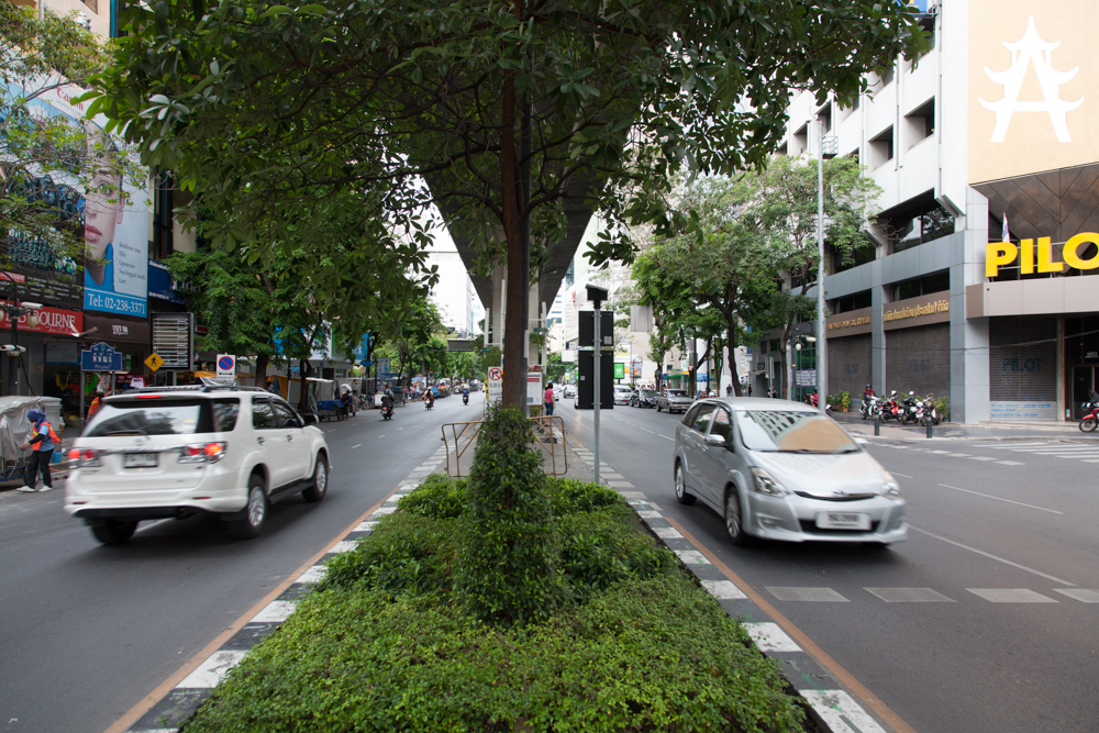 Better drive on the left side when you are in Thailand