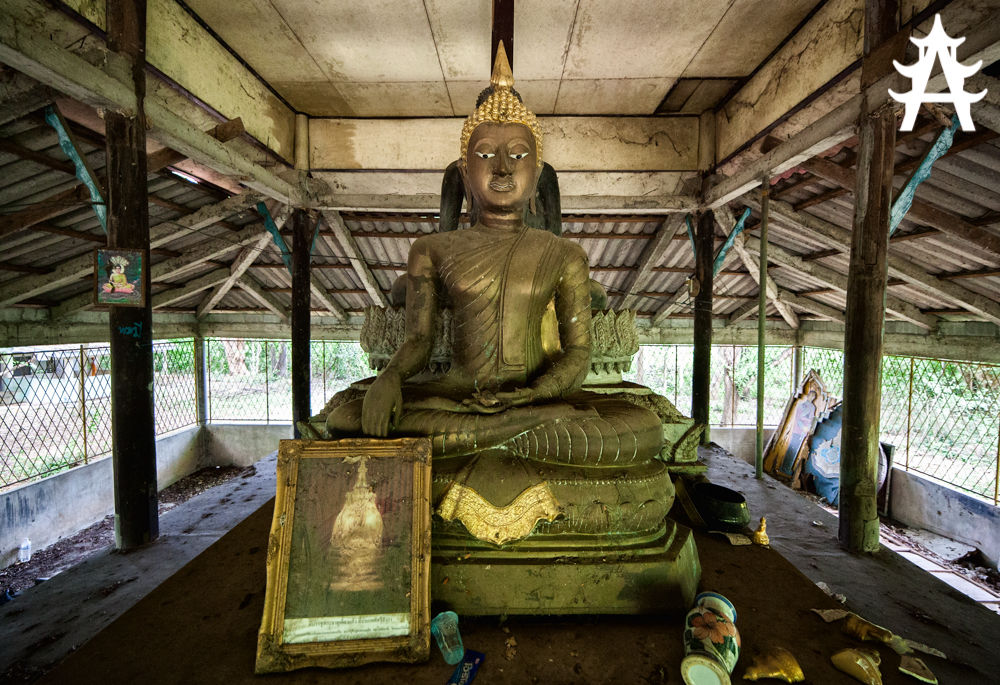 The abandoned Buddha of Kanchanaburi