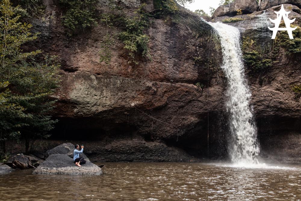 The beautiful Haew Suwat Waterfall
