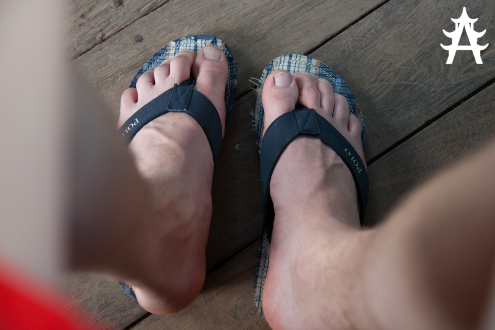 Flip-Flops are the only option