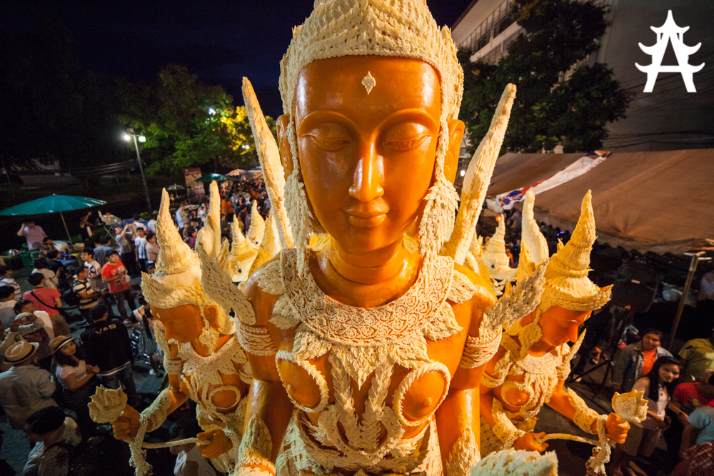 Candle Festival 2013 in Ubon Ratchathani