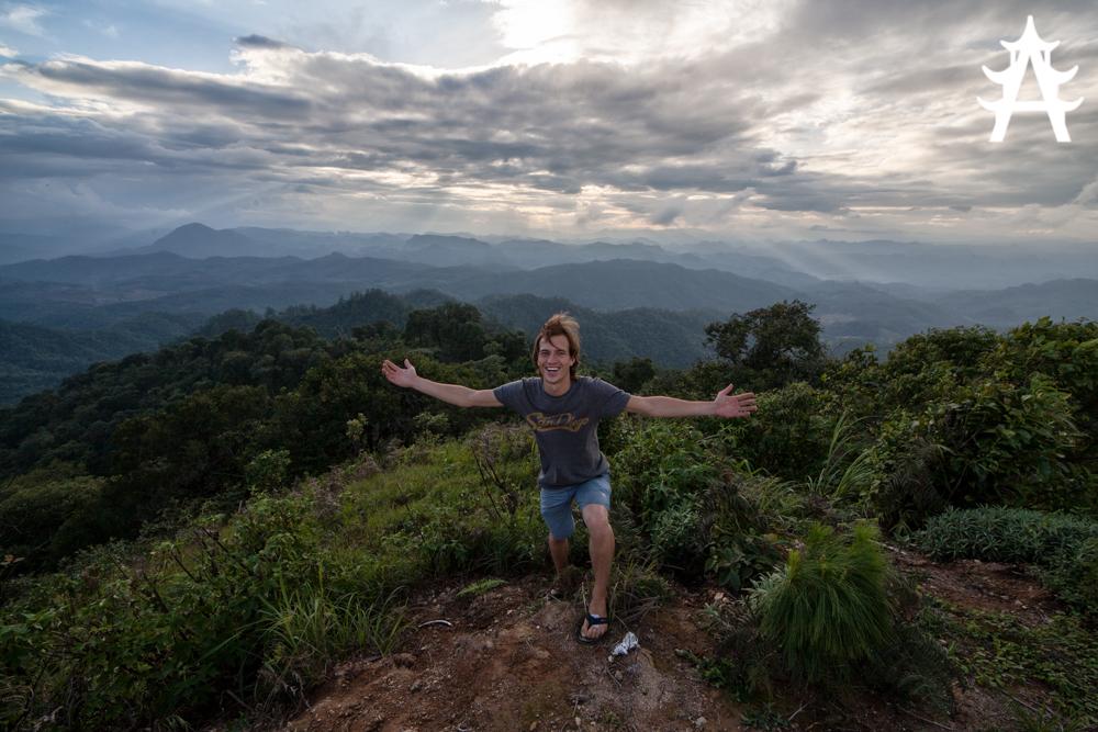 Me on top of the highest peak