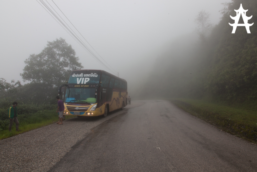 The most amazing and most horrible bus trip you will ever take - From Vientiane to Luang Prabang