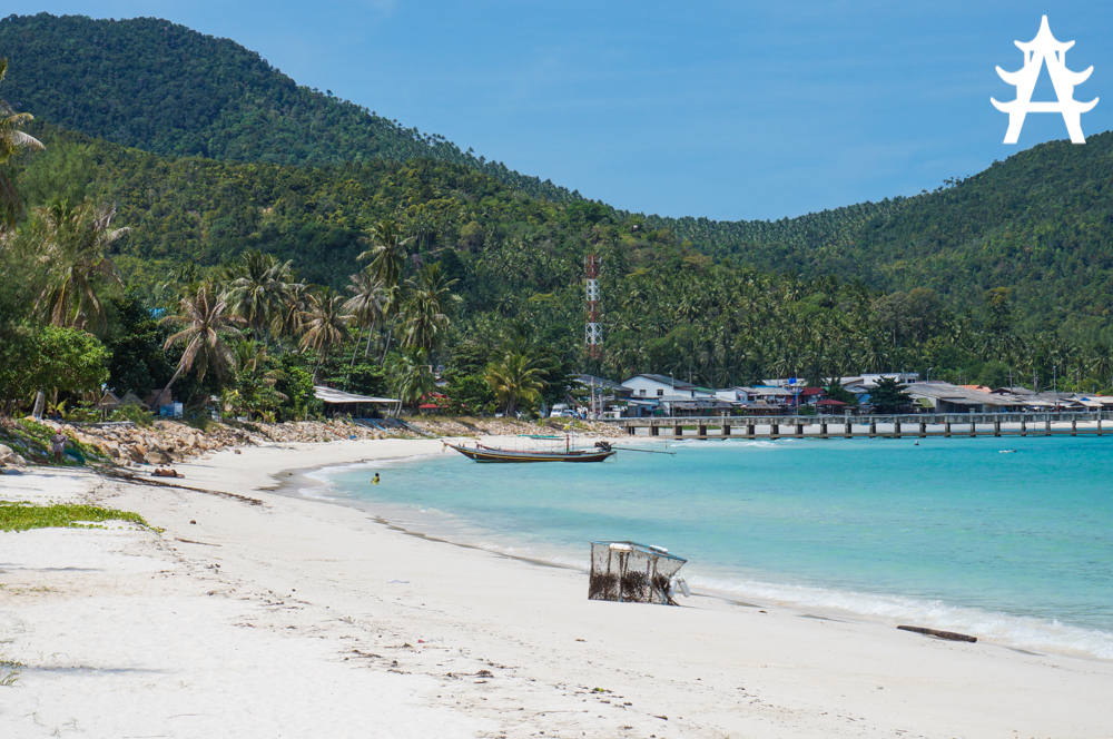 a typical island day on Koh Phangan