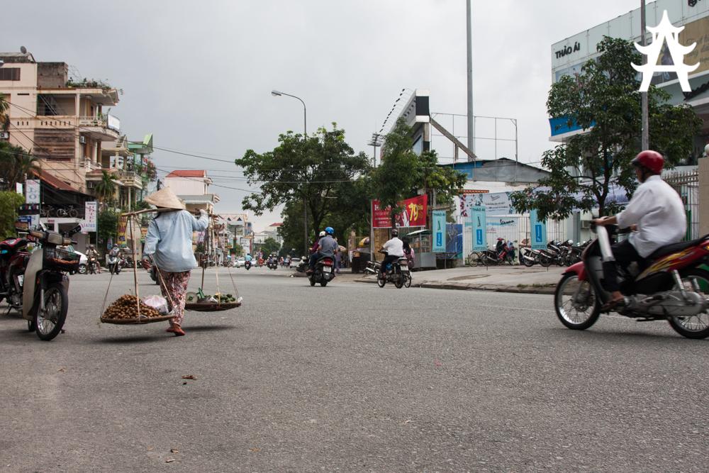 Typhoon Haiyan approaching Hue