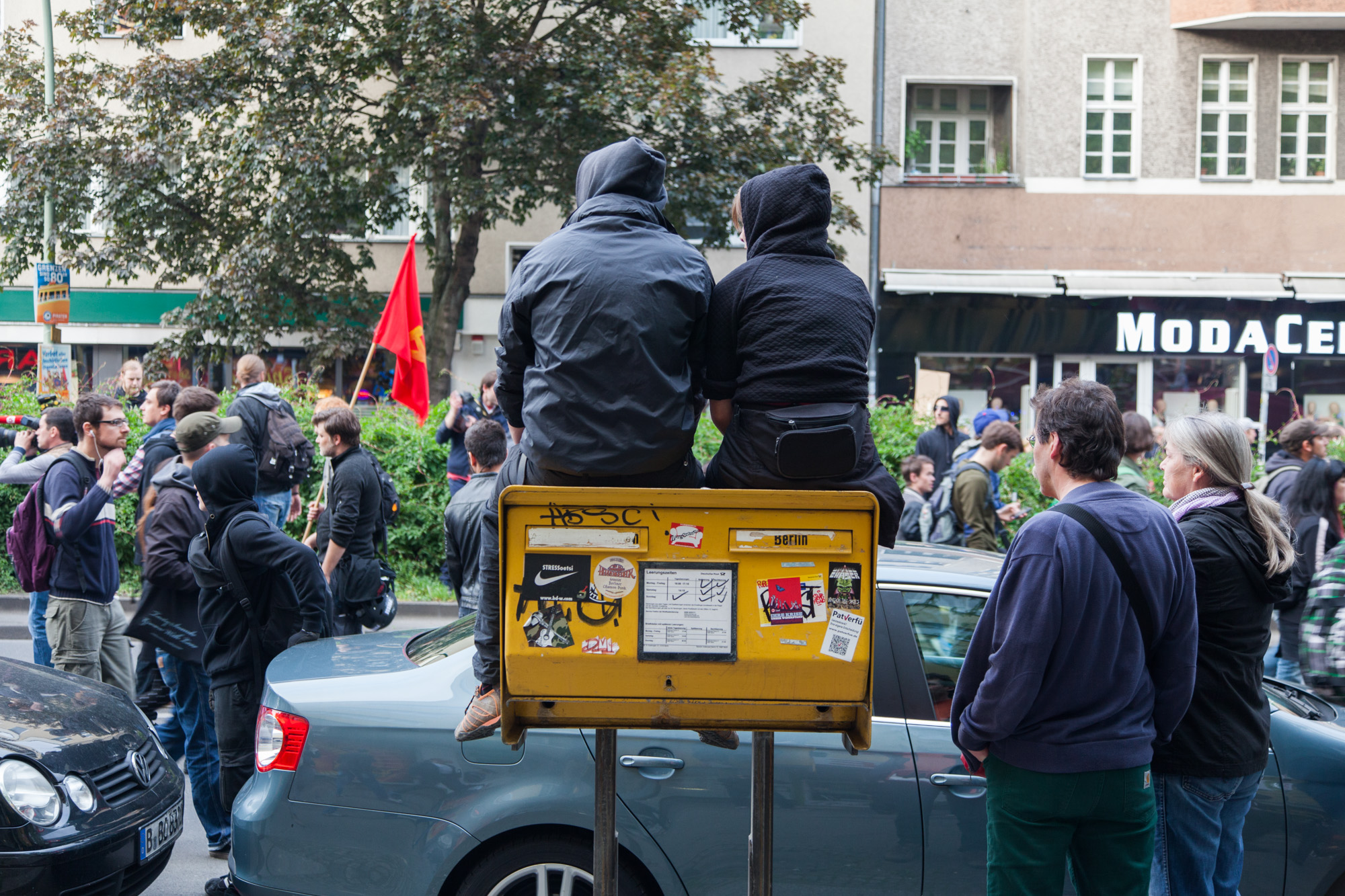 Revolutionäre 1.Mai Demo - Berlin Kreuzberg 2014
